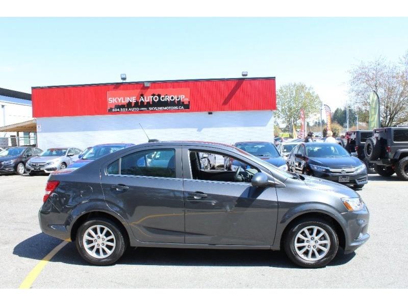 Chevrolet Sonic 2018 price $14,889