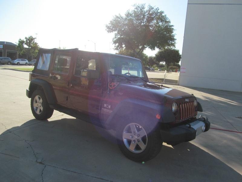 Jeep Wrangler 2007 price $10,650