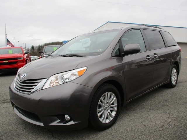 2015 toyota sienna xle inventory joes cars auto dealership in fairmont west virginia. Black Bedroom Furniture Sets. Home Design Ideas