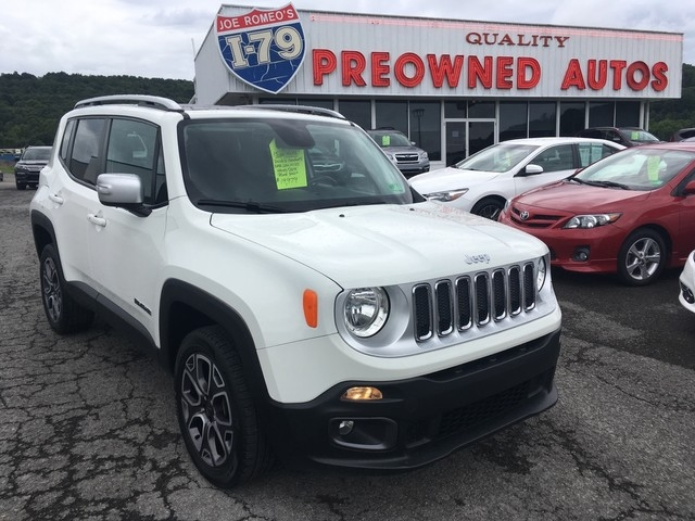 Jeep Renegade 2015 price $18,979