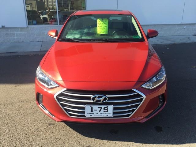 Hyundai Elantra 2018 price $16,579