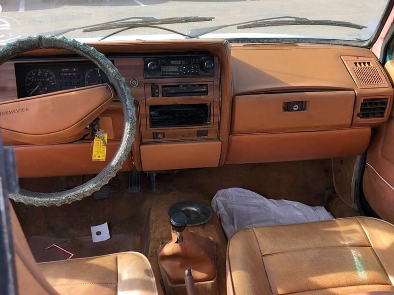 Volkswagen Pickup 1981 price $4,500