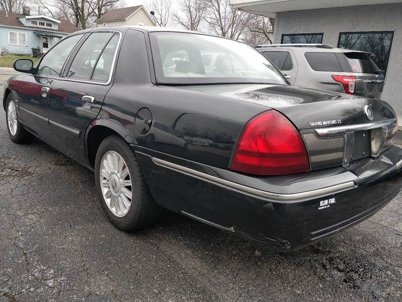 Mercury Grand Marquis 2010 price $5,900