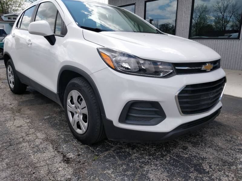 Chevrolet Trax 2017 price $10,425