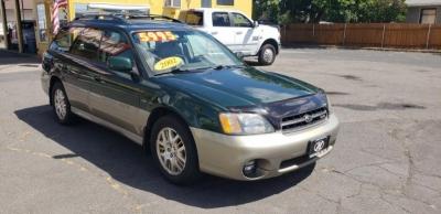 2002 Subaru Legacy Wagon 5dr Outback H6 VDC