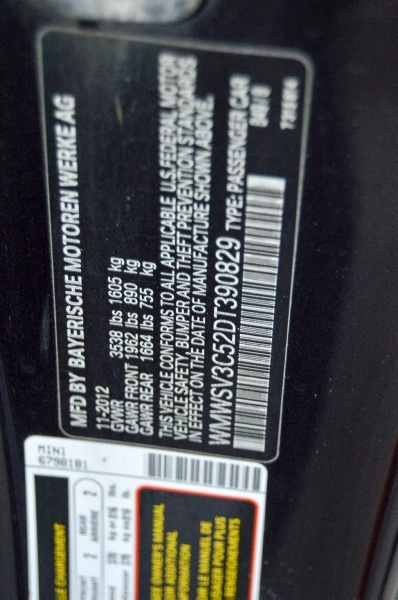 Mini Cooper Hardtop 2013 price $8,990