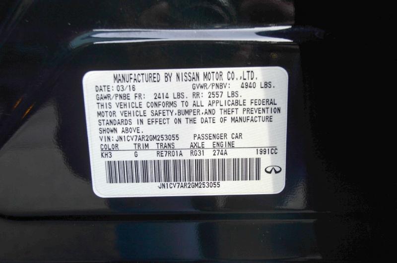 Infiniti Q50 2016 price $18,490