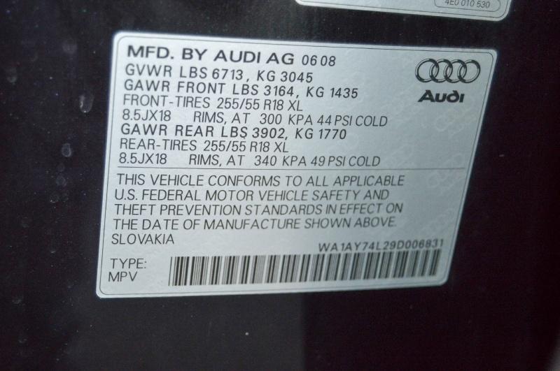 Audi Q7 2009 price $11,490