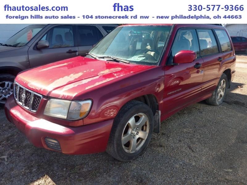 Subaru Forester 2002 price $1,800