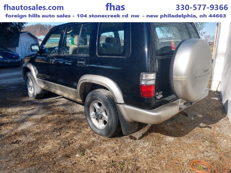 Isuzu Trooper 2000 price $1,500