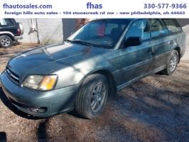 Subaru Legacy Wagon (Natl) 2004