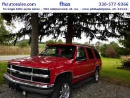 Chevrolet Tahoe 1997