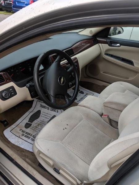 Chevrolet Impala 2009 price $0