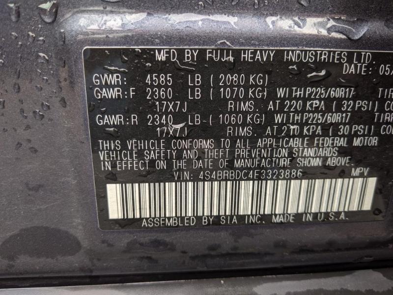 Subaru Outback 2014 price $13,995