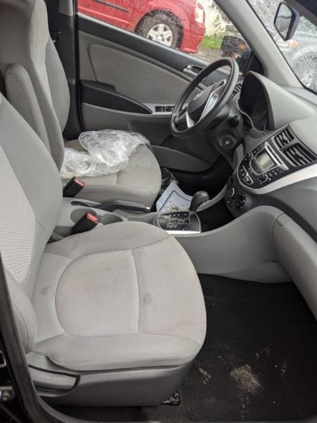 Hyundai Accent 2012 price $0