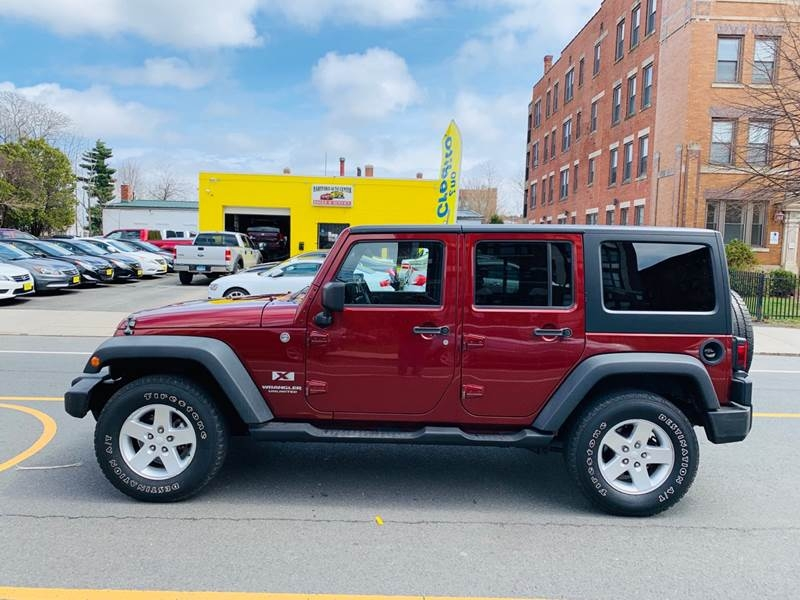 Jeep Wrangler Unlimited 2007 price $11,999