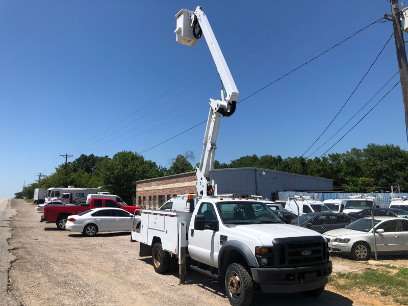 Ford F-550 DRW BOOM BUCKET TRUCK 2008 price $18,950