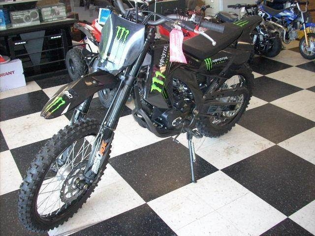 2011 ATV Supermach Monster Energy Edition 250RX DIRT BIKE