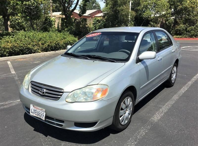 Toyota Corolla 2003 price $3,900