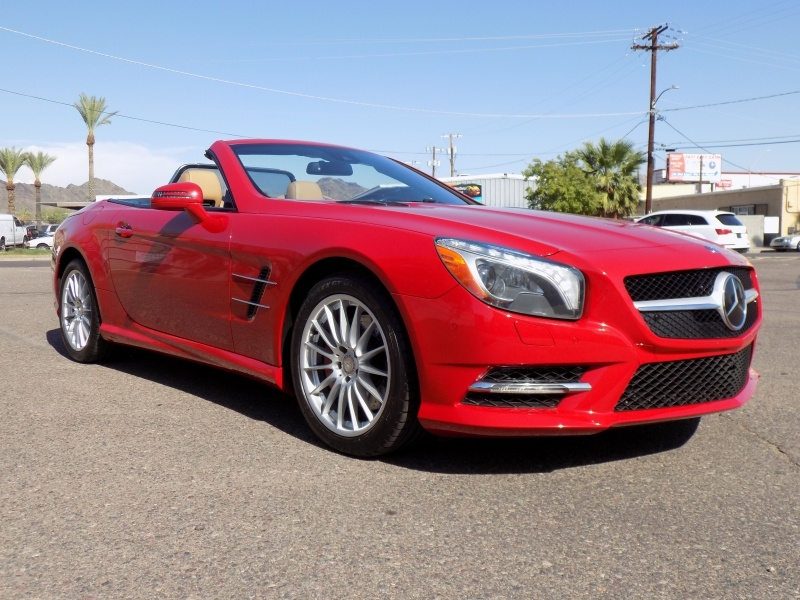 Mercedes-Benz SL550 2014 price $31,950