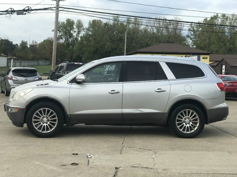 2008 Buick Enclave Cxl Loaded Dvd 3rd Row Seat Leather