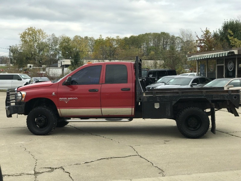 2006 Dodge Ram 3500 Dually Diesel 5 9 Cummins 6 Speed Manual 4x4 Quad Cab Flat Bed