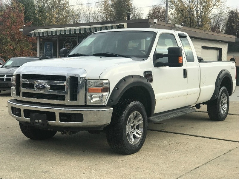 2008 Ford F250 Xlt Diesel 6 4 Powerstroke 4x4 Ext Cab Long
