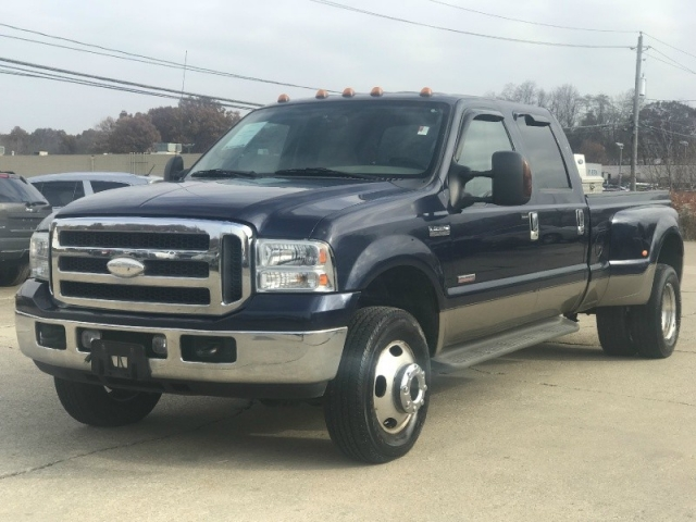 2005 ford f350 lariat dually diesel powerstroke 4x4 crew cab no rust