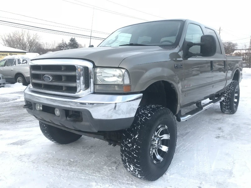 2003 Ford F350 Lifted Diesel Powerstroke 4x4 Crew Cab