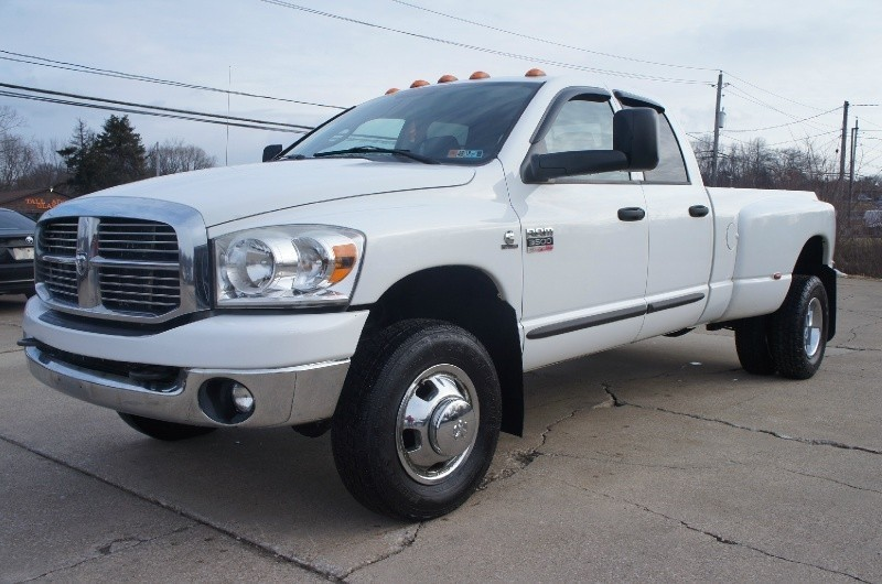 2007 DODGE RAM 3500 DUALLY DIESEL CUMMINS 6 SPEED MANUAL 4X4 QUAD CAB CLEAN - 1st Quality Auto ...