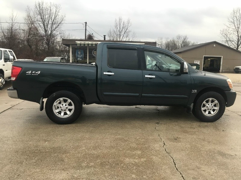 2004 NISSAN TITAN SE LOADED 4X4 CREW CAB SOLID RUST FREE w/ONLY 130K MILES - 1st Quality Auto ...