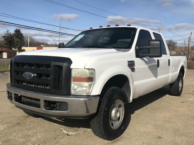 2008 ford f250 diesel 6 4 powerstroke 4x4 crew cab long bed clean 2008 Ford F-250 Diesel Super Duty 2008 ford super duty f 250