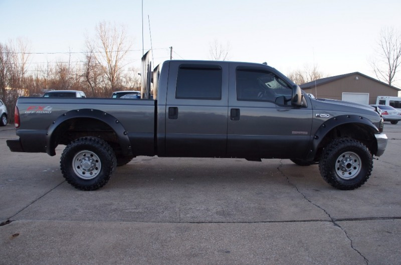 2004 ford f250 lifted diesel powerstroke fx4 stacks crew