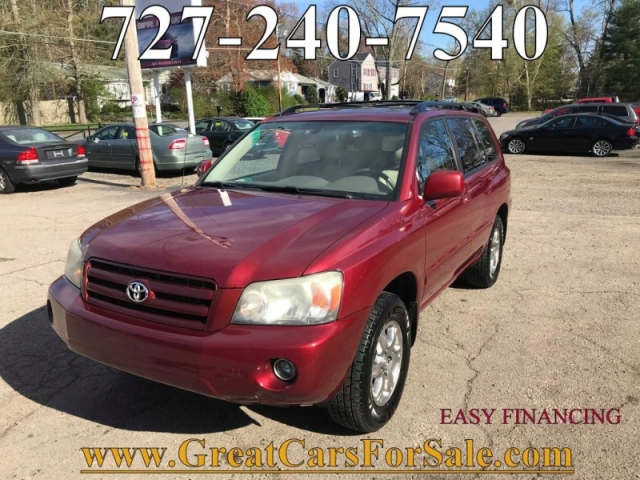 2006 Toyota Highlander V6 AWD 7 pass