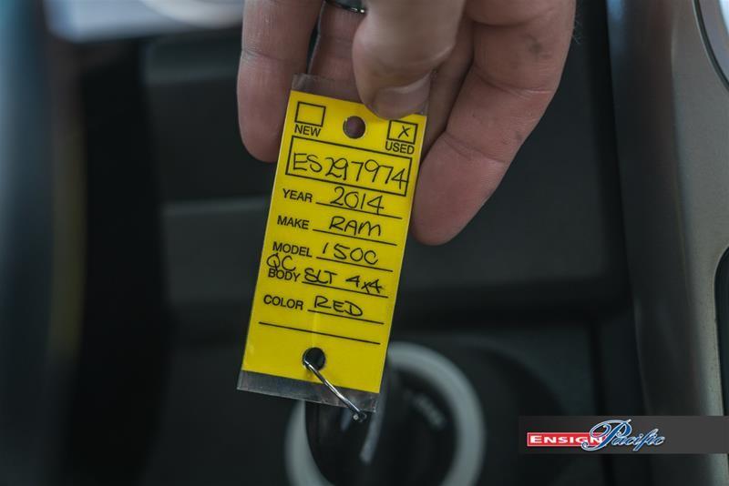 RAM RAM 1500 Quad Cab 4x4 SLT (140.5 WB 6'4 Box) 2014 price $23,998