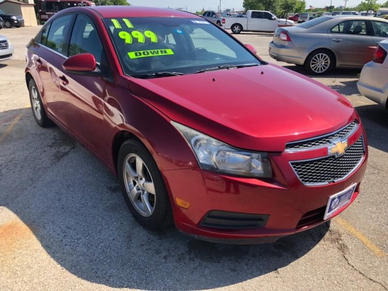 Chevrolet Cruze 2011 price $999 Down
