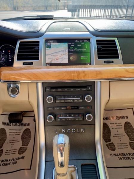 Lincoln MKS 2012 price $1,900