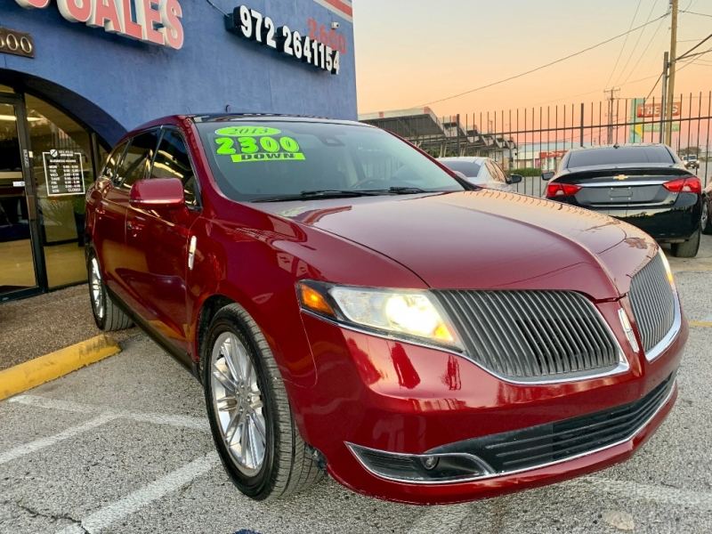 Lincoln MKT 2013 price $2,300