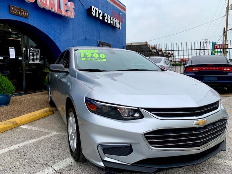 Chevrolet Malibu 2017 price $1,900 Down