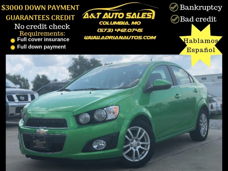 Chevrolet Sonic 2014 price $8,999 Cash
