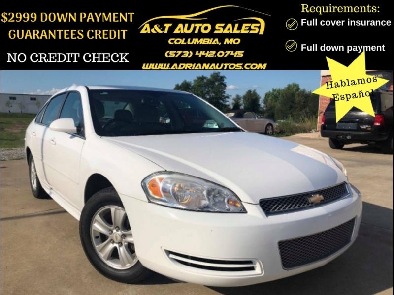 Chevrolet Impala 2012 price $8,499 Cash