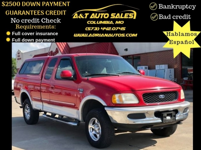 1998 Ford F 150 Supercab 139 4wd Inventory A T Auto Sales Llc