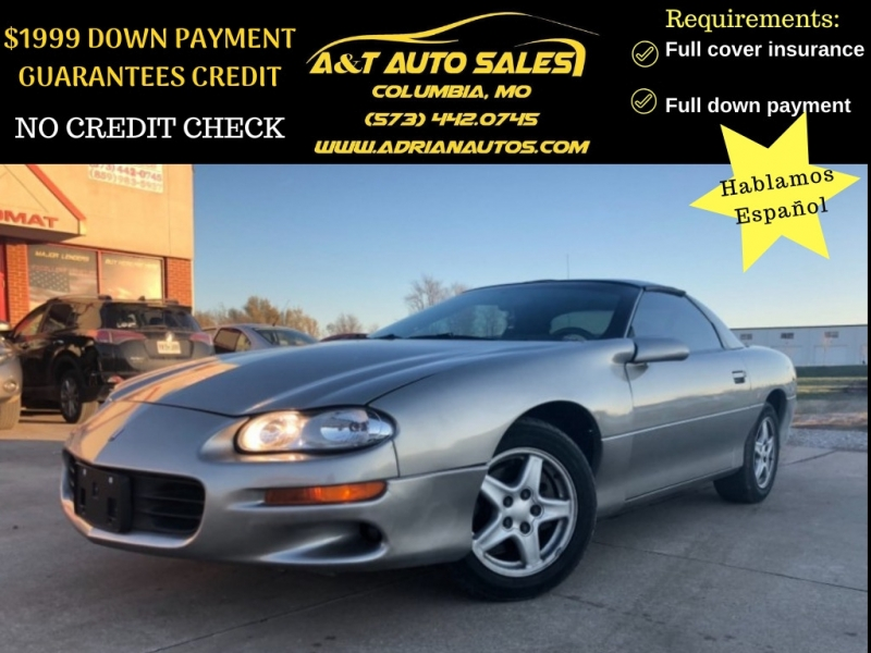 Chevrolet Camaro 1999 price $3,999 Cash