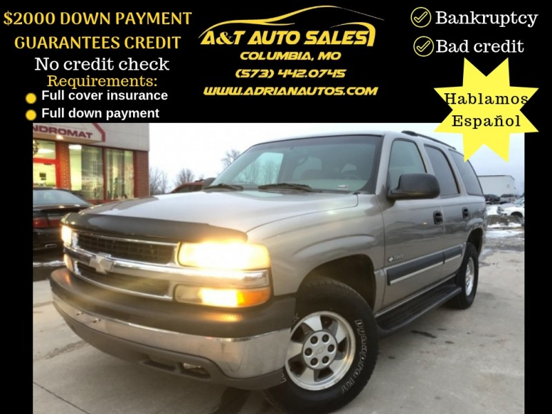 Chevrolet Tahoe 2003 price $5,999 Cash