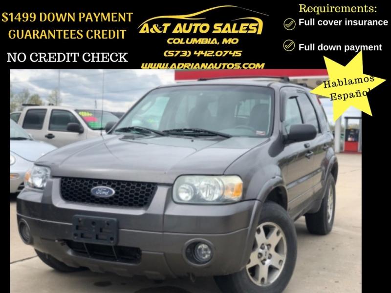 Ford Escape 2005 price $3,499 Cash