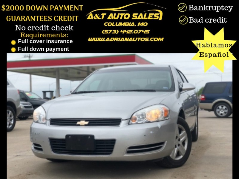 Chevrolet Impala 2008 price $4,999 Cash