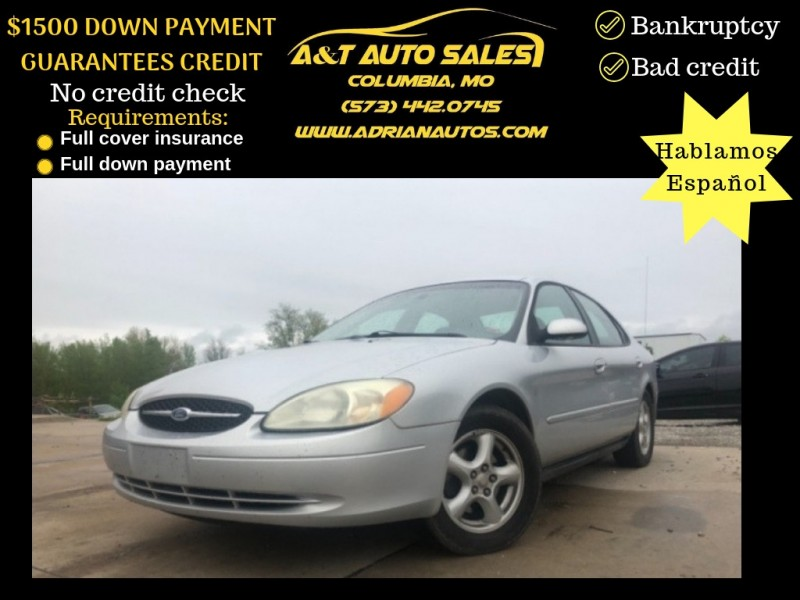 Ford Taurus 2002 price $2,999 Cash