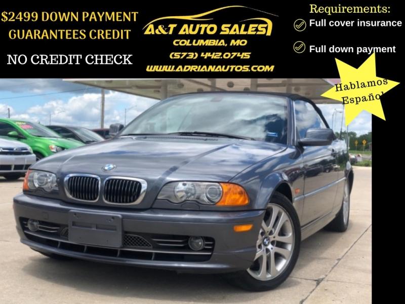 BMW 3-Series 2001 price $4999 Cash
