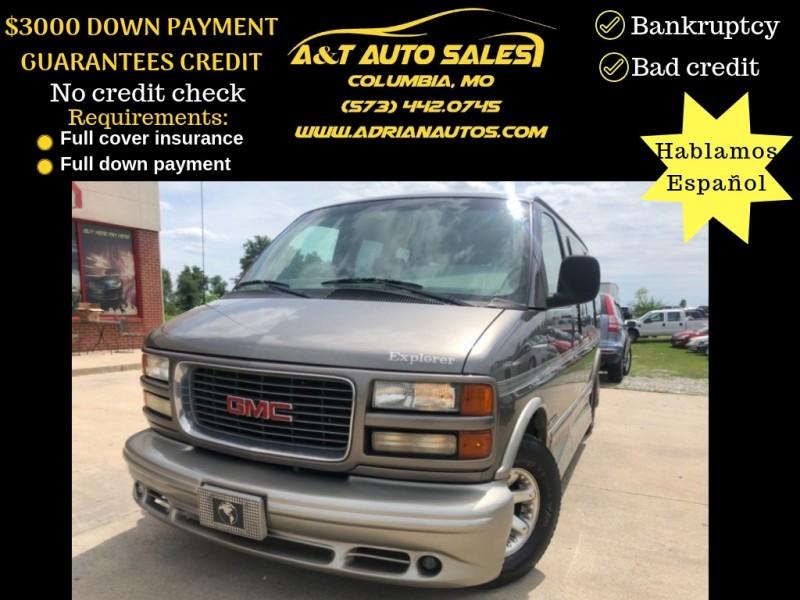 GMC Savana Passenger 2002 price 2999 DOWN PAYMENT