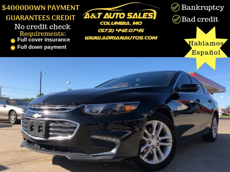 Chevrolet Malibu 2017 price 3999 DOWN PAYMENT